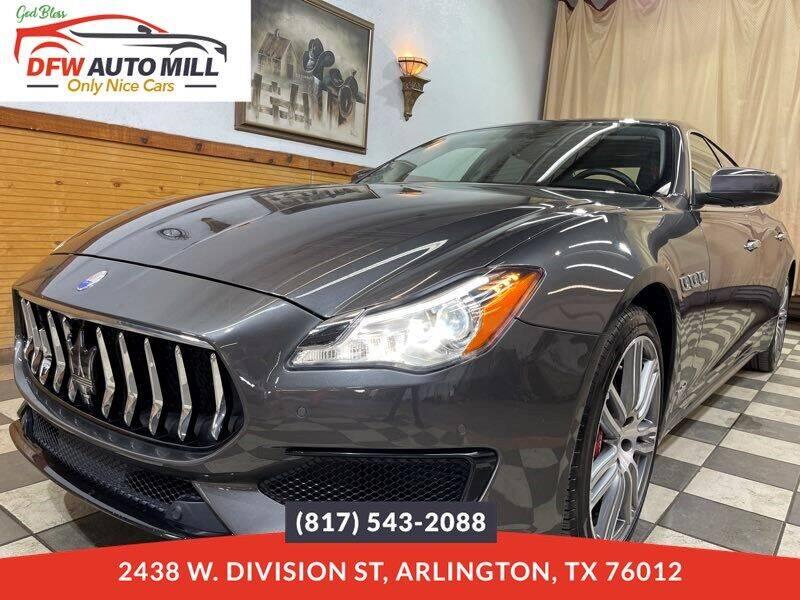 2017 Maserati Quattroporte for sale in Arlington, TX