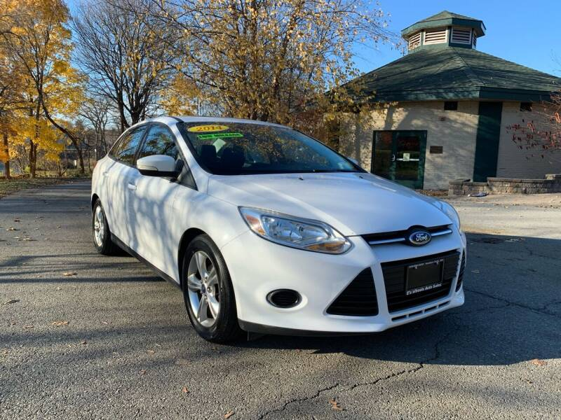 2014 Ford Focus for sale at E's Wheels Auto Sales in Hudson Falls NY
