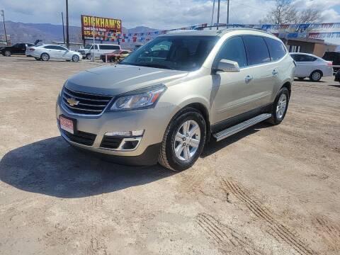 2013 Chevrolet Traverse for sale at Bickham Used Cars in Alamogordo NM