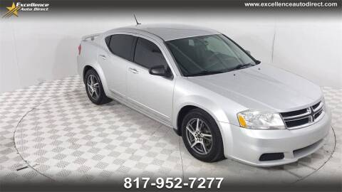 2012 Dodge Avenger for sale at Excellence Auto Direct in Euless TX