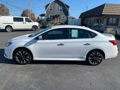 2019 Nissan Sentra for sale at MAGNUM MOTORS in Reedsville PA