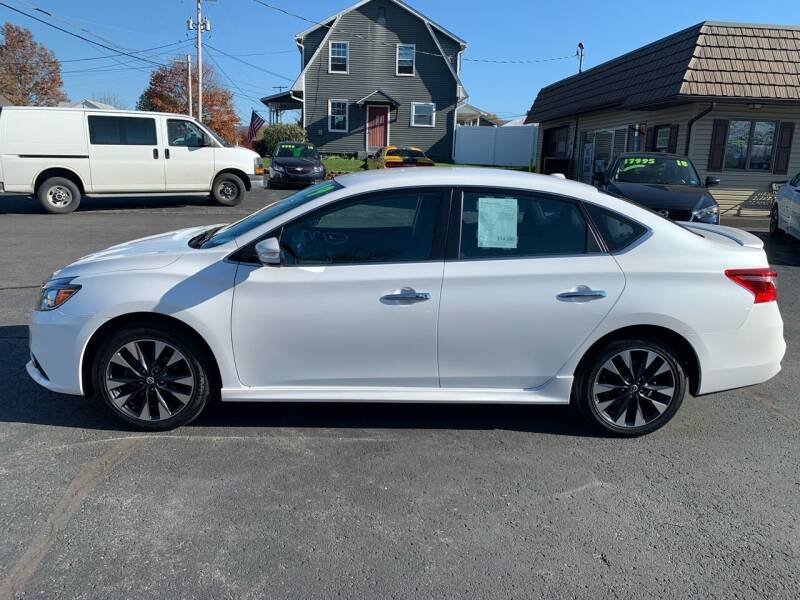 2019 Nissan Sentra for sale at MAGNUM MOTORS in Reedsville PA