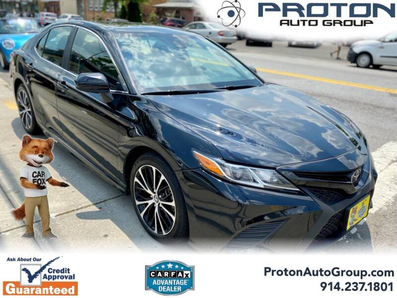 2019 Toyota Camry for sale at Proton Auto Group in Yonkers NY