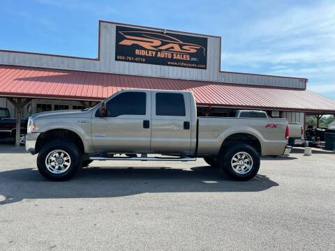 2007 Ford F-250 Super Duty for sale at Ridley Auto Sales, Inc. in White Pine TN