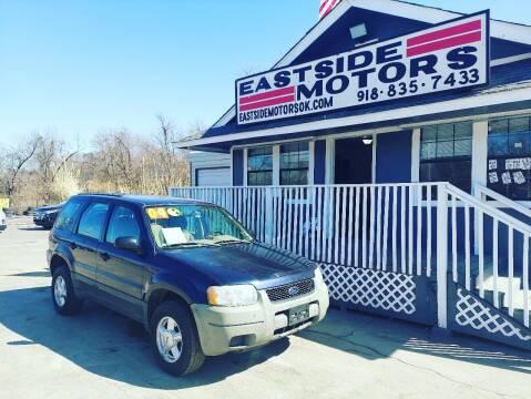 2004 Ford Escape for sale at EASTSIDE MOTORS in Tulsa OK