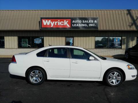 2014 Chevrolet Impala Limited for sale at Wyrick Auto Sales & Leasing-Holland in Holland MI