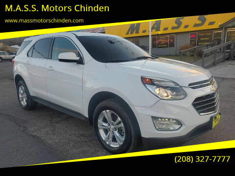 2016 Chevrolet Equinox for sale at M.A.S.S. Motors Chinden in Garden City ID