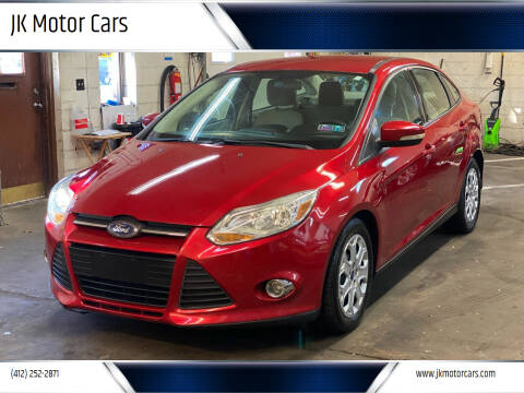 2012 Ford Focus for sale at JK Motor Cars in Pittsburgh PA