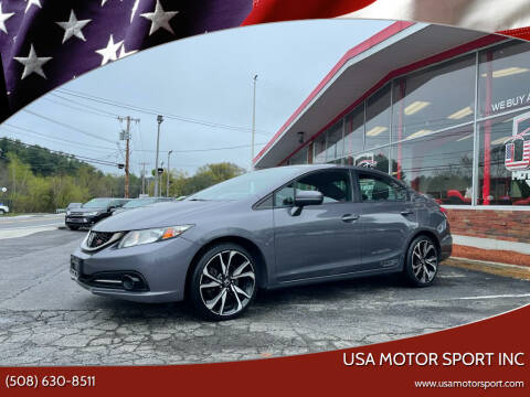 2015 Honda Civic for sale at USA Motor Sport inc in Marlborough MA