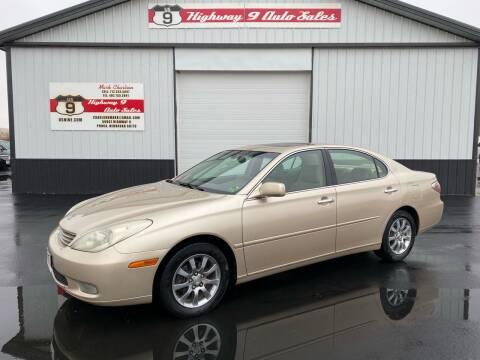 2003 Lexus ES 300 for sale at Highway 9 Auto Sales - Visit us at usnine.com in Ponca NE