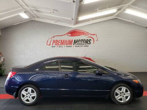 2007 Honda Civic for sale at Premium Motors in Villa Park IL