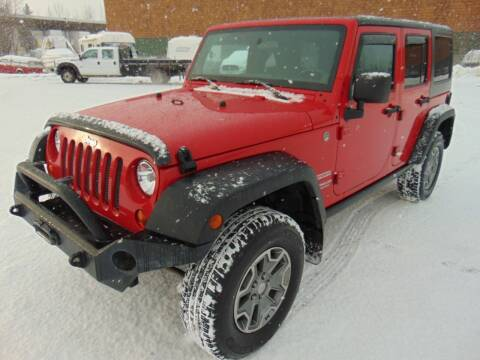 2011 Jeep Wrangler Unlimited for sale at Dependable Used Cars in Anchorage AK