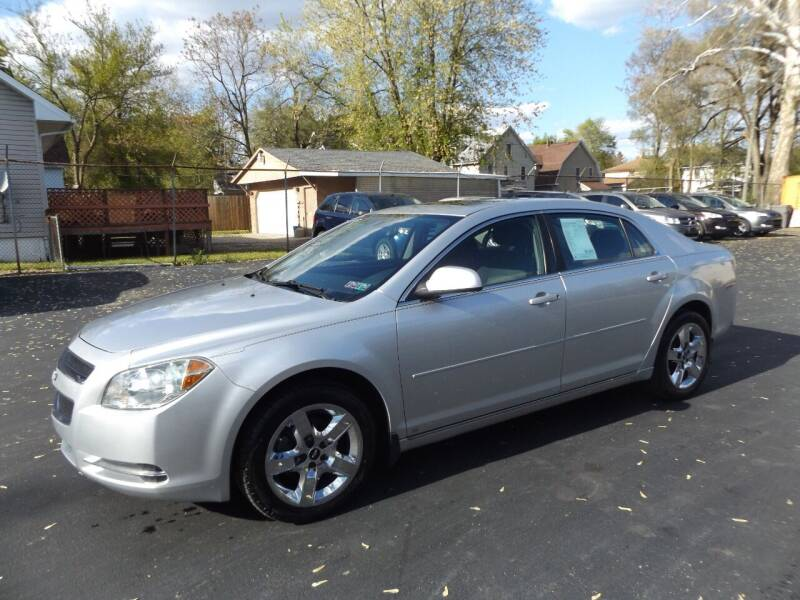 2010 Chevrolet Malibu for sale at Goodman Auto Sales in Lima OH