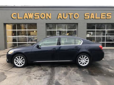 2006 Lexus GS 300 for sale at Clawson Auto Sales in Clawson MI