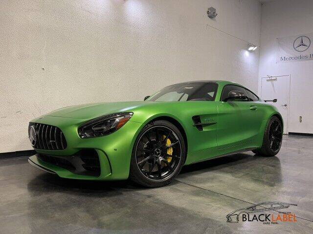2019 Mercedes-Benz AMG GT for sale at BLACK LABEL AUTO FIRM in Riverside CA