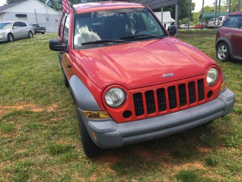 2005 Jeep Liberty for sale at Mocks Auto in Kernersville NC