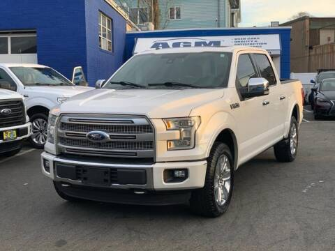 2016 Ford F-150 for sale at AGM AUTO SALES in Malden MA