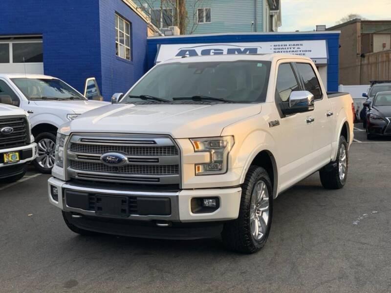 2016 Ford F-150 for sale at AGM AUTO SALES in Malden MA