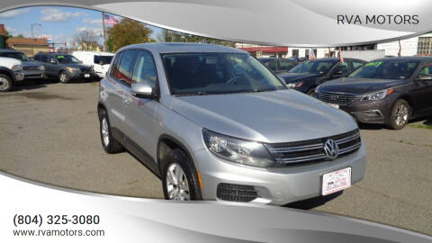 2011 Volkswagen Tiguan for sale at RVA MOTORS in Richmond VA