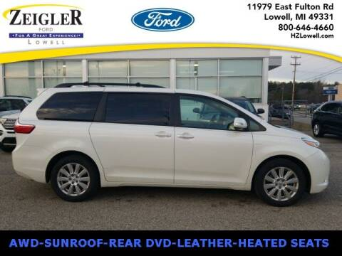 2017 Toyota Sienna for sale at Zeigler Ford of Plainwell- michael davis in Plainwell MI