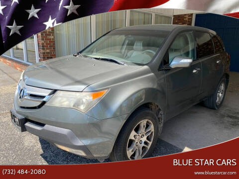 2007 Acura MDX for sale at Blue Star Cars in Jamesburg NJ