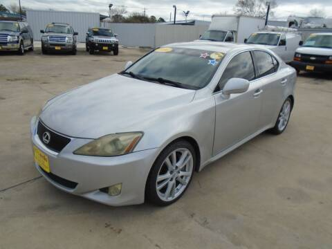 2006 Lexus IS 350 for sale at BAS MOTORS in Houston TX