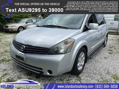 2007 Nissan Quest for sale at Island Auto Sales in East Patchogue NY