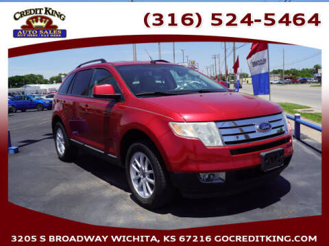 2010 Ford Edge for sale at Credit King Auto Sales in Wichita KS