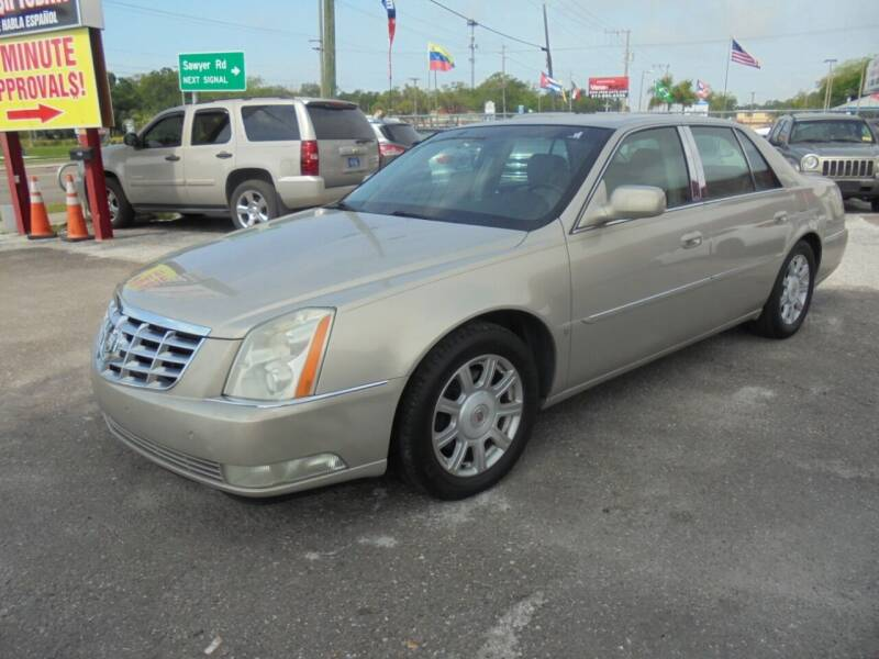 2008 Cadillac DTS for sale at Automax Wholesale Group LLC in Tampa FL