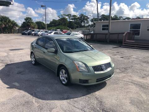 2007 Nissan Sentra for sale at Friendly Finance Auto Sales in Port Richey FL