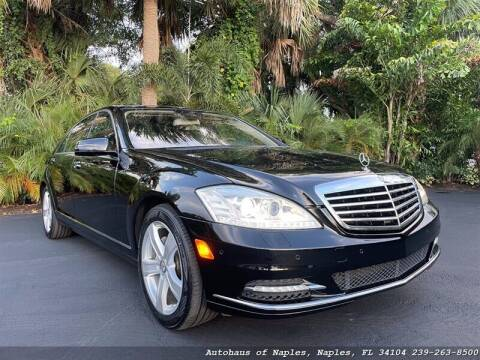 2010 Mercedes-Benz S-Class for sale at Autohaus of Naples in Naples FL
