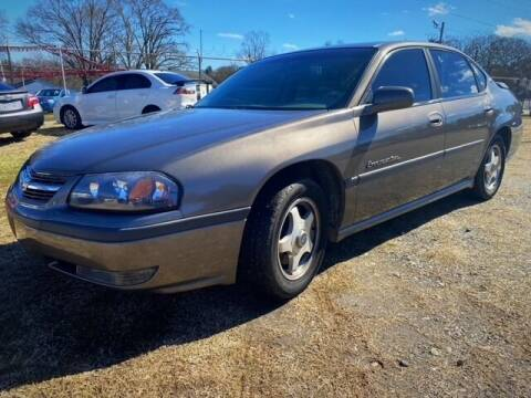 2002 Chevrolet Impala for sale at Cutiva Cars in Gastonia NC