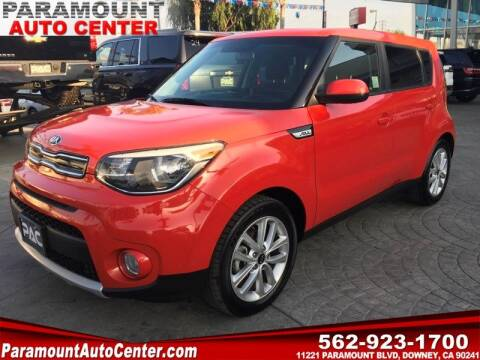 2019 Kia Soul for sale at PARAMOUNT AUTO CENTER in Downey CA
