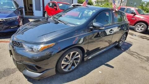 2018 Toyota Corolla iM for sale at Buy Here Pay Here Auto Sales in Newark NJ