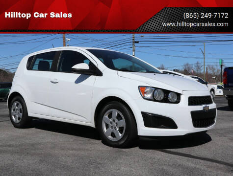 2016 Chevrolet Sonic for sale at Hilltop Car Sales in Knox TN