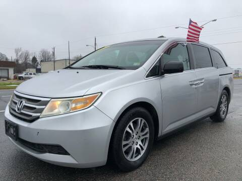 2011 Honda Odyssey for sale at Mega Autosports in Chesapeake VA