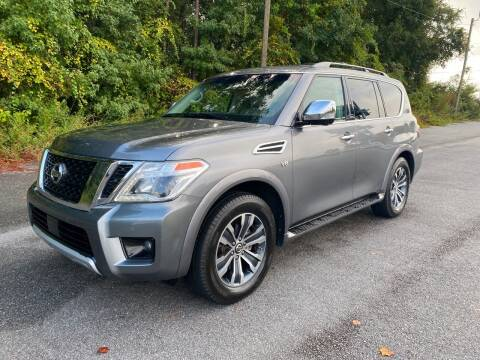 2017 Nissan Armada for sale at Autoteam of Valdosta in Valdosta GA