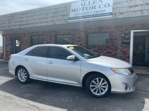 2012 Toyota Camry for sale at Allen Motor Company in Eldon MO