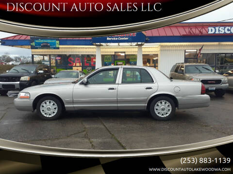 2004 Mercury Grand Marquis for sale at DISCOUNT AUTO SALES LLC in Spanaway WA