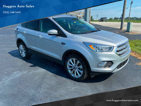 2017 Ford Escape for sale at Huggins Auto Sales in Hartford City IN