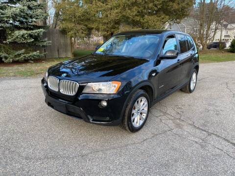 2014 BMW X3 for sale at Boston Auto Cars in Dedham MA