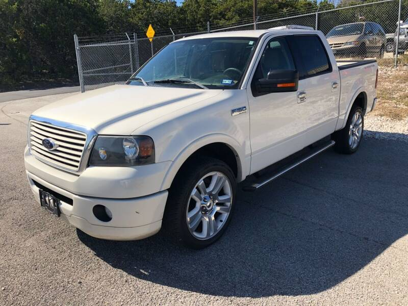 2008 Ford F-150 for sale at Central Automotive in Kerrville TX