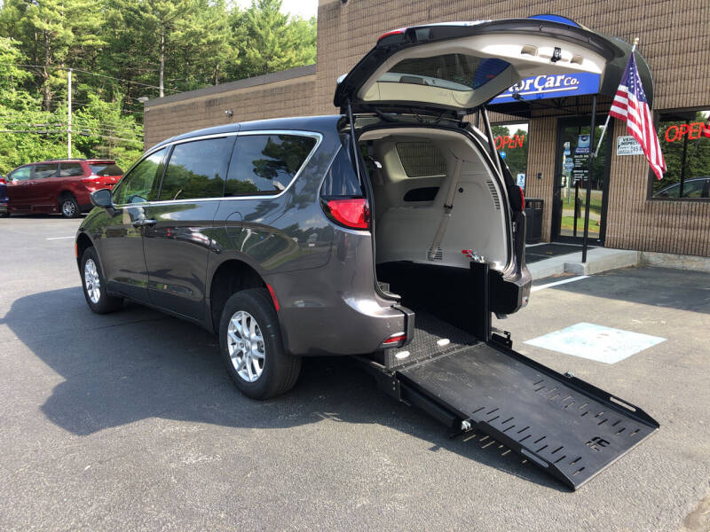 2020 Chrysler Pacifica for sale at New England Motor Car Company in Hudson NH