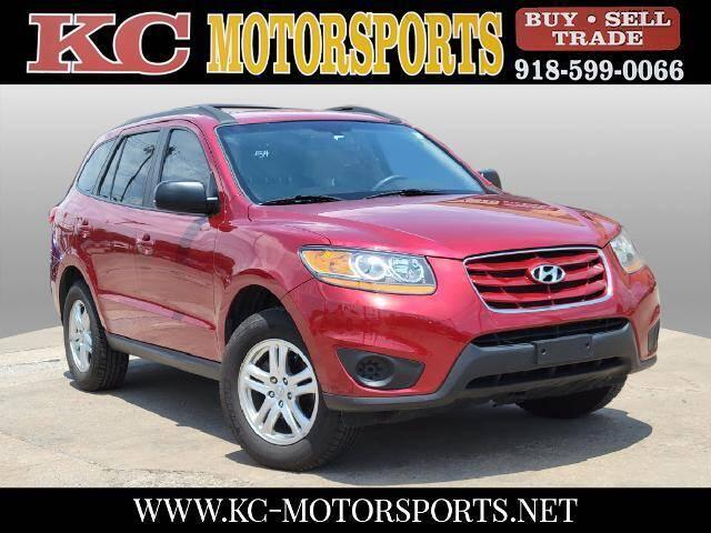 2010 Hyundai Santa Fe for sale at KC MOTORSPORTS in Tulsa OK