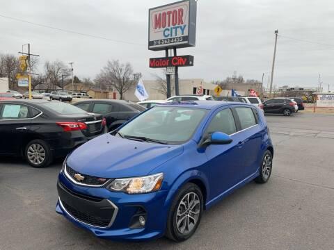 2020 Chevrolet Sonic for sale at Motor City Sales in Wichita KS