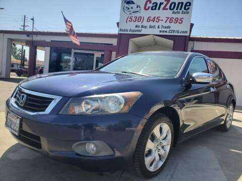 2009 Honda Accord for sale at CarZone in Marysville CA