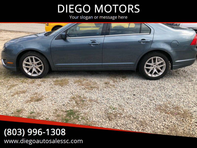 2012 Ford Fusion for sale at DIEGO MOTORS in Lexington SC