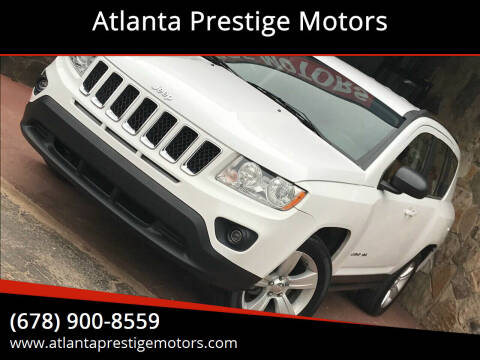 2011 Jeep Compass for sale at Atlanta Prestige Motors in Decatur GA