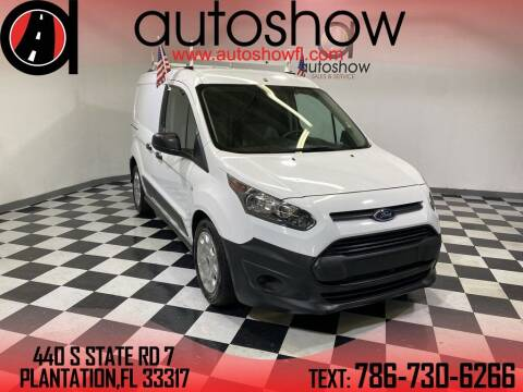 2018 Ford Transit Connect Cargo for sale at AUTOSHOW SALES & SERVICE in Plantation FL