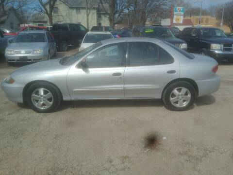 2004 Chevrolet Cavalier for sale at D & D Auto Sales in Topeka KS
